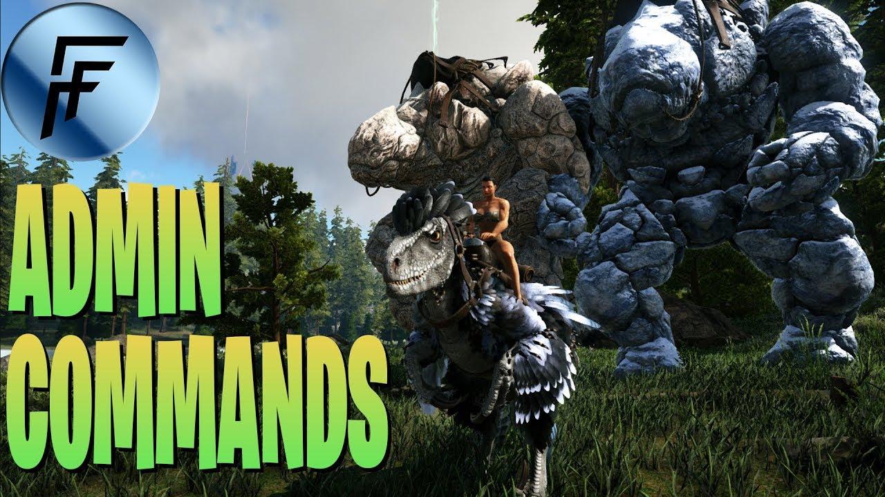 NEW VALGUERO DLC SPAWN COMMANDS/CONSOLE COMMANDS! ARK: Survival Evolved