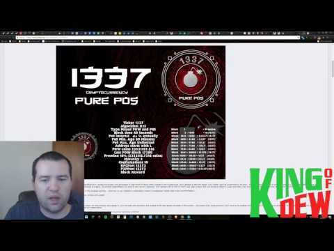 Dew News - SteemFest - New NVIDIA Miner - 1337 Coin - Storage Coins Making More Sense