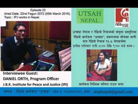 Topic: IPJ Works in Nepal.