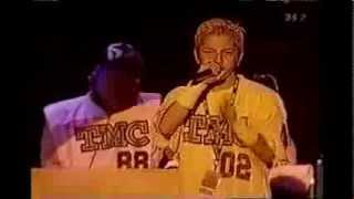 Repeat youtube video Dragon Ash - Deep Impact feat.ラッパ我リヤ (Live @ Rock In Japan Fes. 2000)