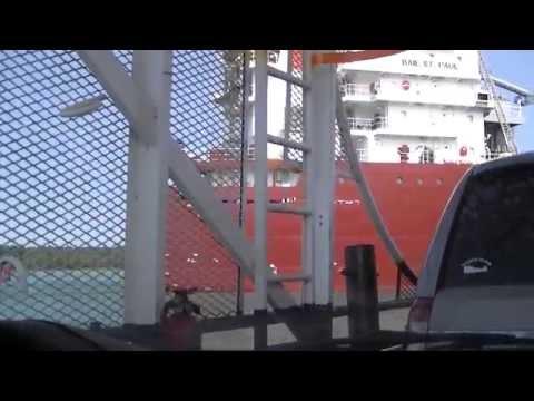 CSL Baie St. Paul Trillium Class Self-Unloading Bulk Carrier Neebish Island