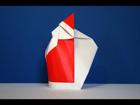 origami p re no l santa claus senbazuru youtube. Black Bedroom Furniture Sets. Home Design Ideas