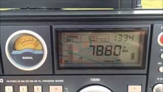 TECSUN S-2000 - FM放送受信@千葉県千葉市中央区中央港