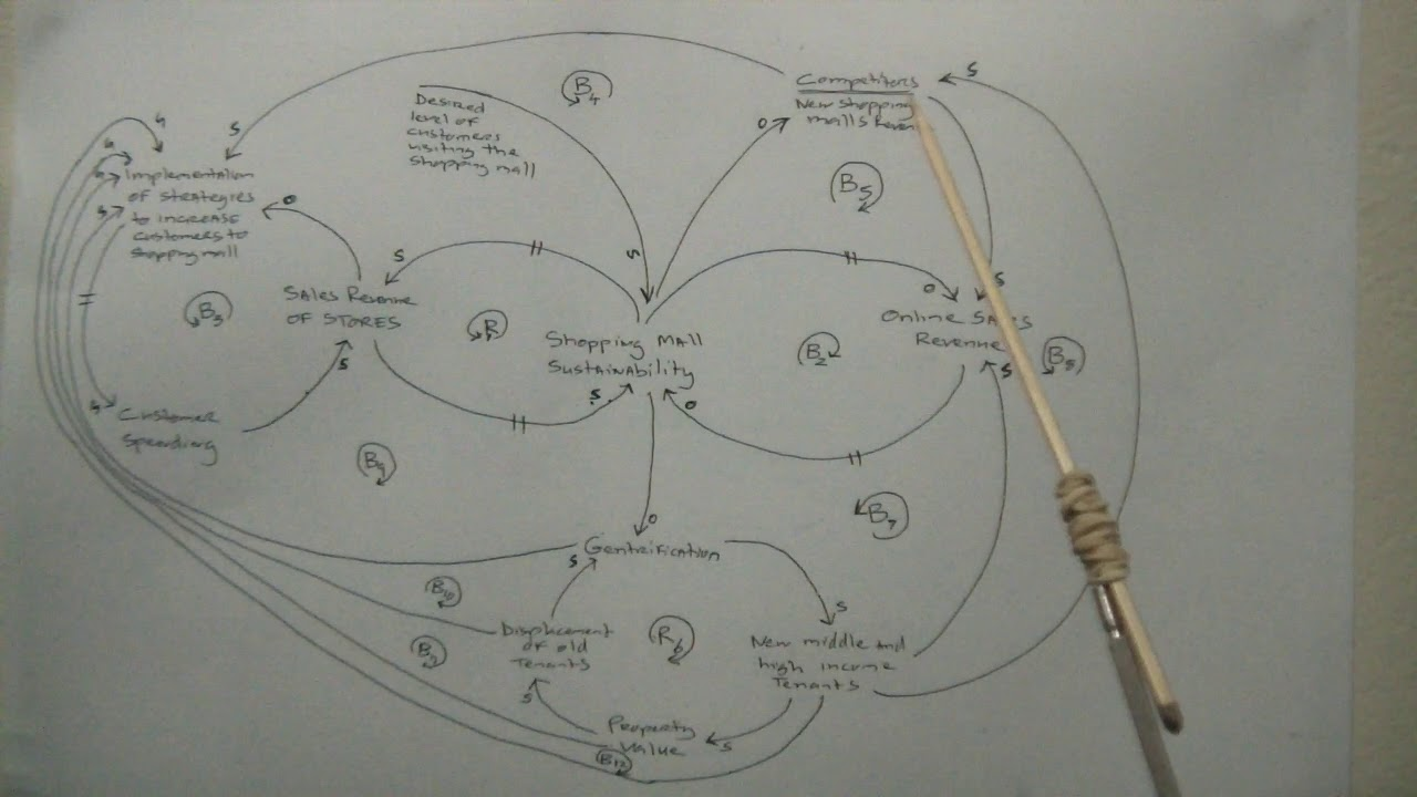 Causal loop diagram of the sustainability of South African ...