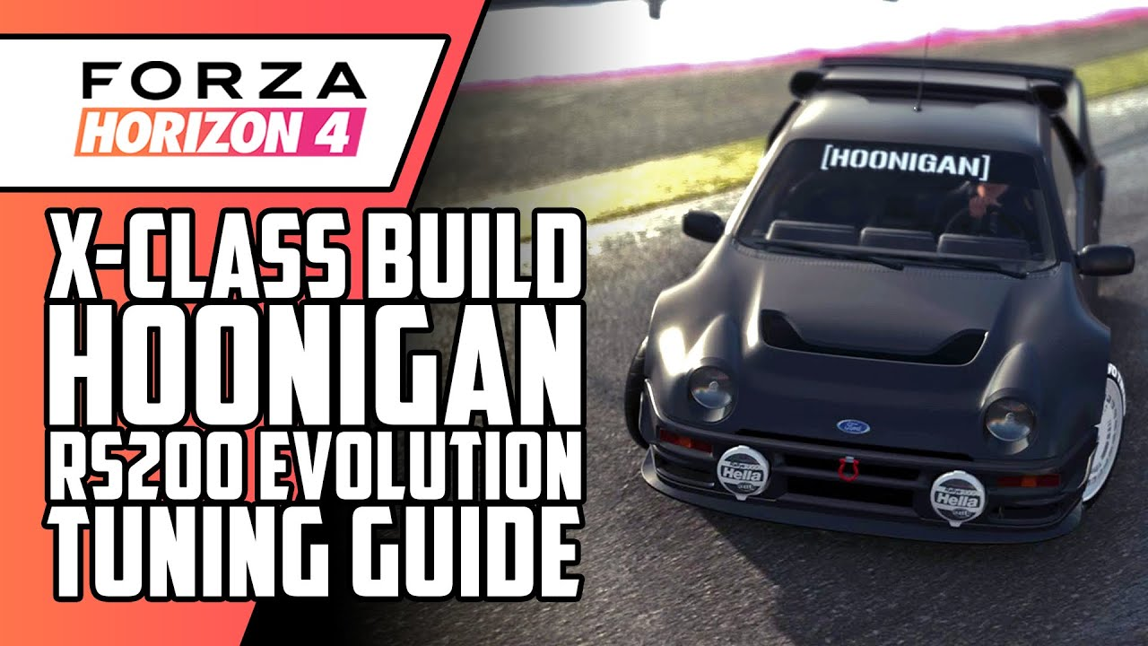 How To Tune The 1986 Hoonigan Ford Rs200 Evolution In Forza