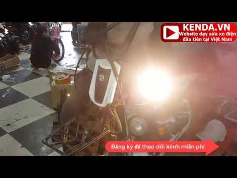 Hướng dẫn thay đầu đèn xe điện 133S theo yêu cầu