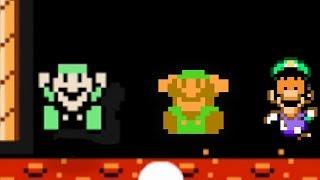 Play as Luigi in Mario Maker - 100 Luigi challenge [Expert] #06  [Super Mario Maker mod]