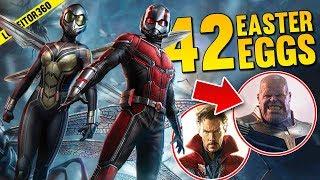 ANT MAN & THE WASP - 42 Secretos, Referencias, Cameos y Easter Eggs de la Película! Luineitor!