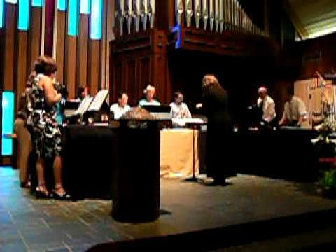 Rivermont Ringers Rehearse Easter Music