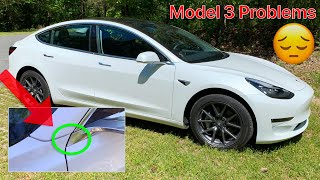 Everything wrong with my Tesla Model 3 - Quality and Warranty Issues