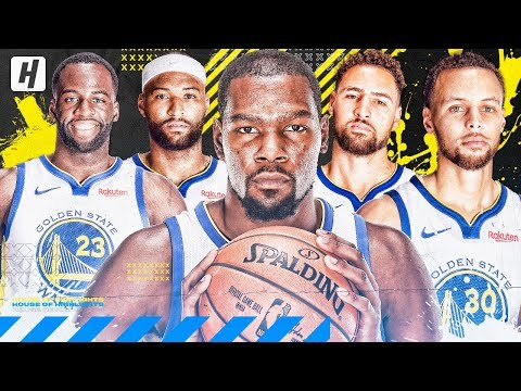 Golden State Warriors VERY BEST Plays & Highlights From 2018-19 NBA Season!