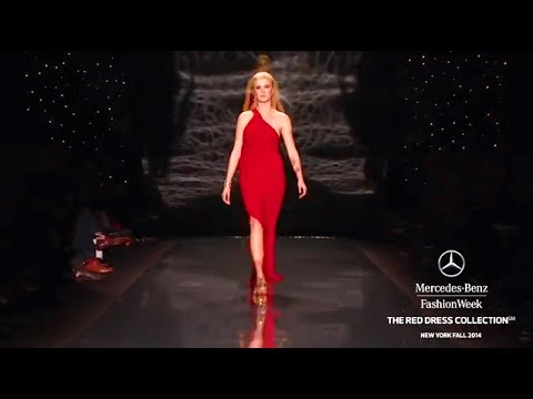 GO RED FOR WOMEN THE HEART TRUTH RED DRESS COLLECTION: MERCEDES-BENZ FASHION WEEK Fall 2014
