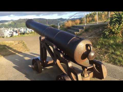 Dashcam - Drive up to Mt Victoria Wellington