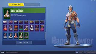 NEW LEAKED Grill Sergeant Skin (Durr Burger Set) Coming To FORTNITE BATTLE ROYALE