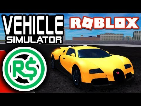 Race me for ROBUX in Vehicle Simulator LIVE | Roblox