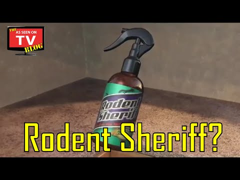 Rodent Sheriff As Seen On TV Commercial | Buy Rodent Sheriff!