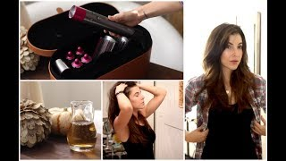 NEW Dyson Hair Unboxing + DIY Fall Hair Treatments