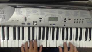 Lakhon hai nigah mein - keyboard cover