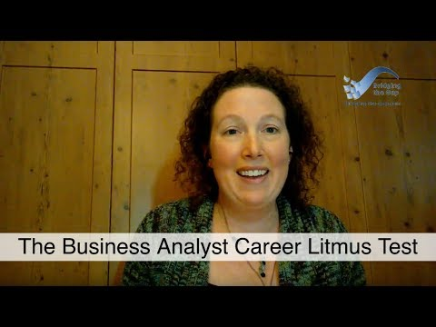 The Business Analyst Litmus Test