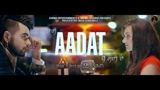 aadat ninja latest punjabi song 2015 full hd