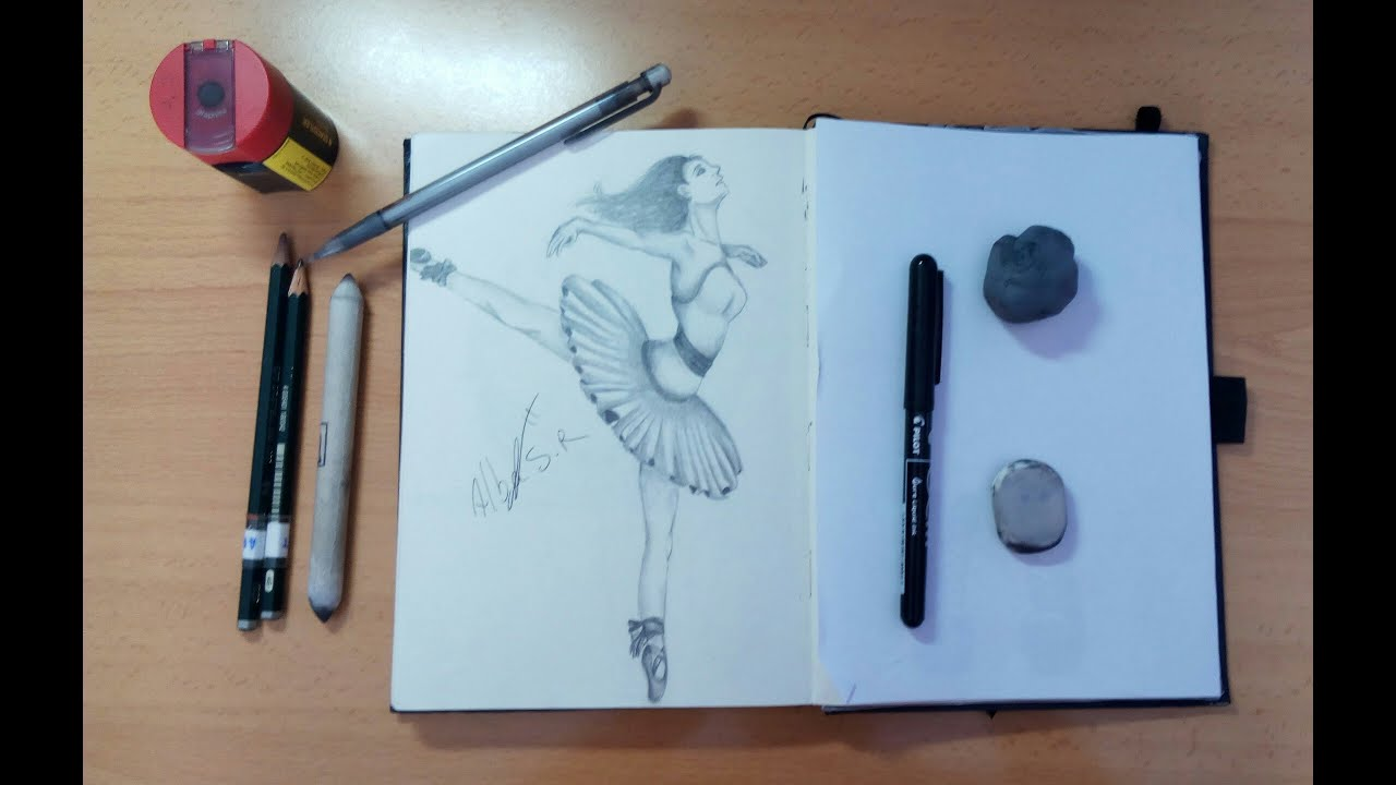 Dibujando A Una Bailarina