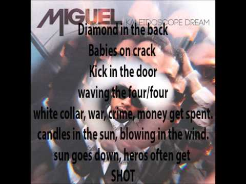 Miguel- Candle in the Sun W/ Lyrics