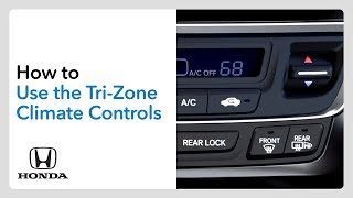 homepage tile video photo for How to Use the Tri-Zone Climate Controls— Ridgeline, Pilot and Passport