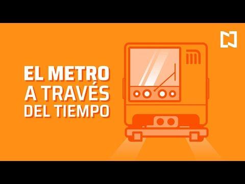 El Metro de la Ciudad de México a través del tiempo | ¿Cuándo se inauguró el Metro de la CDMX?