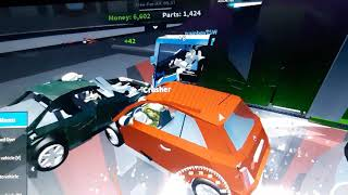 Car Crusher 2 (Roblox) Defeating the Juggernaut and destroying cars, trucks, and buses