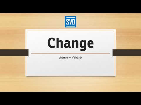 Change » Definition, Meaning, Pronunciation, Origin, Synonyms, Thesaurus, and Example Sentences