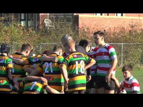 2017 29th October Stockport U14s vs Littleborough - Part 1