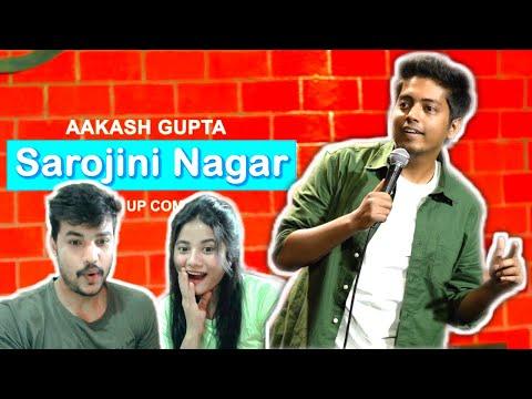 Sarojini Nagar Couple Reaction | Excuse Me Brother | Stand-Up Comedy by Aakash Gupta