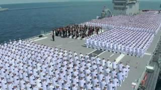 เพลงสรรเสริญพระบารมี อลังการบนเรือหลวงจักรีนฤเบศร