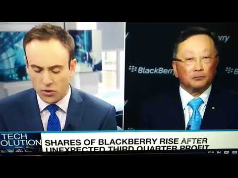 "John Chen BlackBerry CEO ( DEC. 2017 ) "" Let me explain briefly how BlackBerry Secure for 30 Years !"