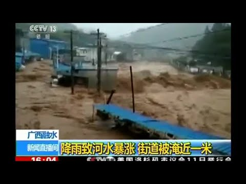 Severe Typhoon Hato Takes Hong Kong By Storm