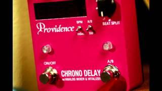 Providence Chrono Delay Guitar Pedal