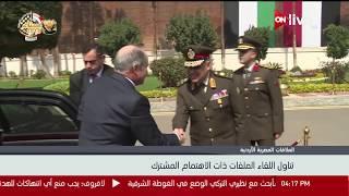 وزير الدفاع يستقبل رئيس وزراء الأردن