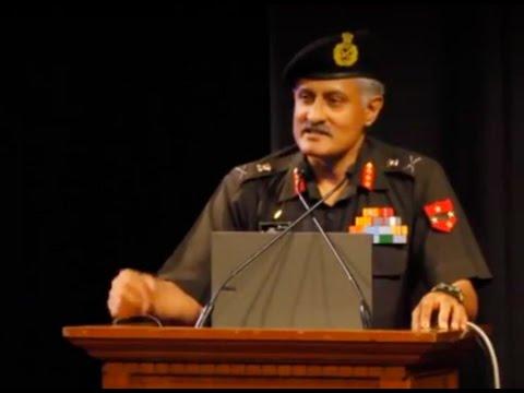 The 10th General K.S. Thimayya Memorial Lecture, 2014--Lt Gen K Surendranath, PVSM, AVSM**, SM, VSM