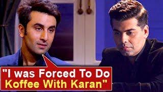 Ranbir Kapoor SLAMS Karan Johar,
