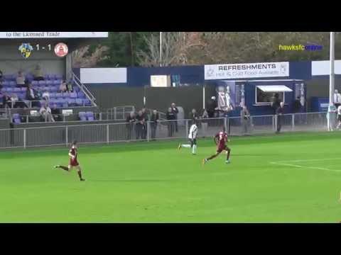 Havant & Waterlooville v Chelmsford. Goals & reaction  October 2014