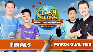 World Championship March Qualifier FINALS Clash of Clans