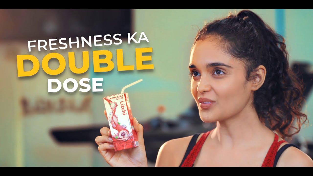 All new RoohAfza Fusion - Freshness ka #DoubleDose