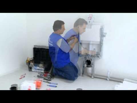 Rapid sl installatiesyteem voor wc syst me d 39 install doovi - Wastafel een poser duravit ...