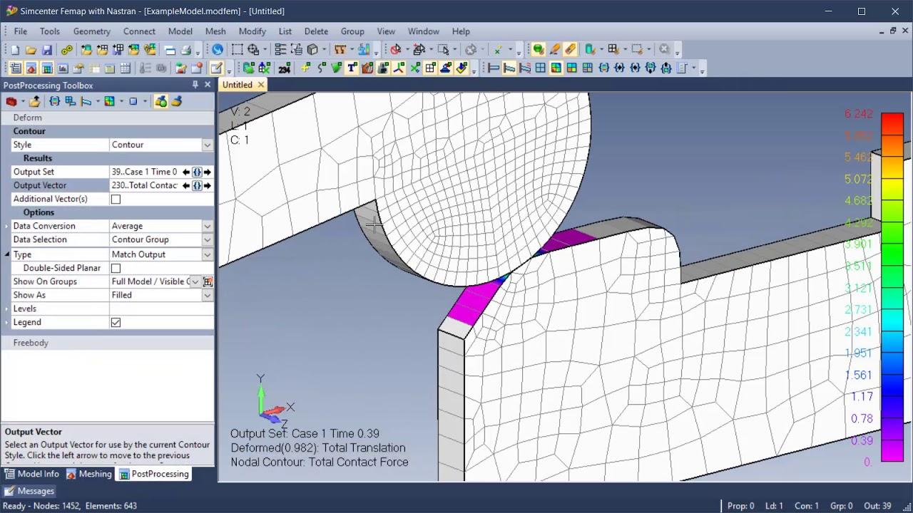 Femap v2019 1 | Finite Element Analysis Pre/Post Software