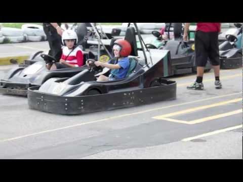 Go Karting at Centennial Park 2012