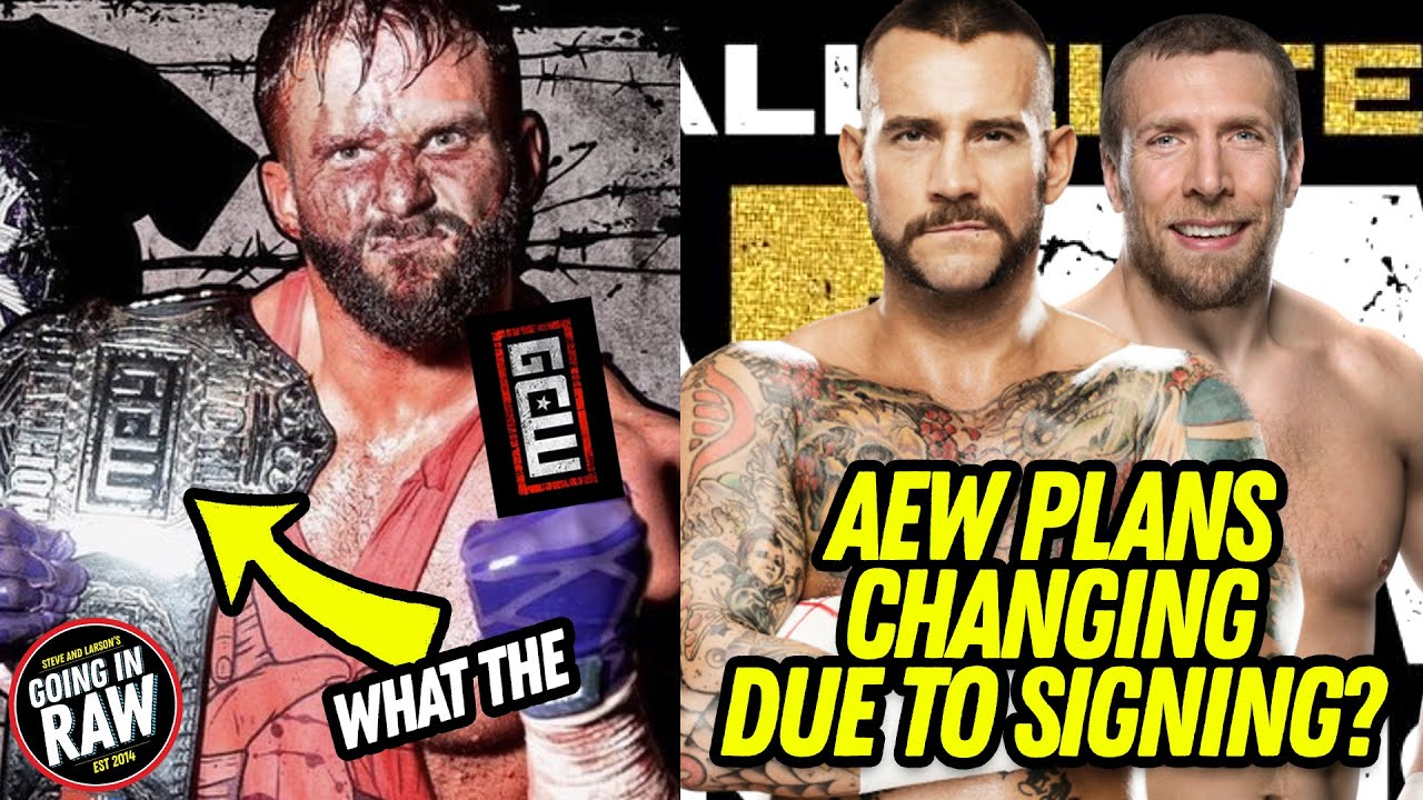 AEW Changes Plans After Signing Punk & Bryan? Cardona Wins GCW World Title | Pro Wrestling News