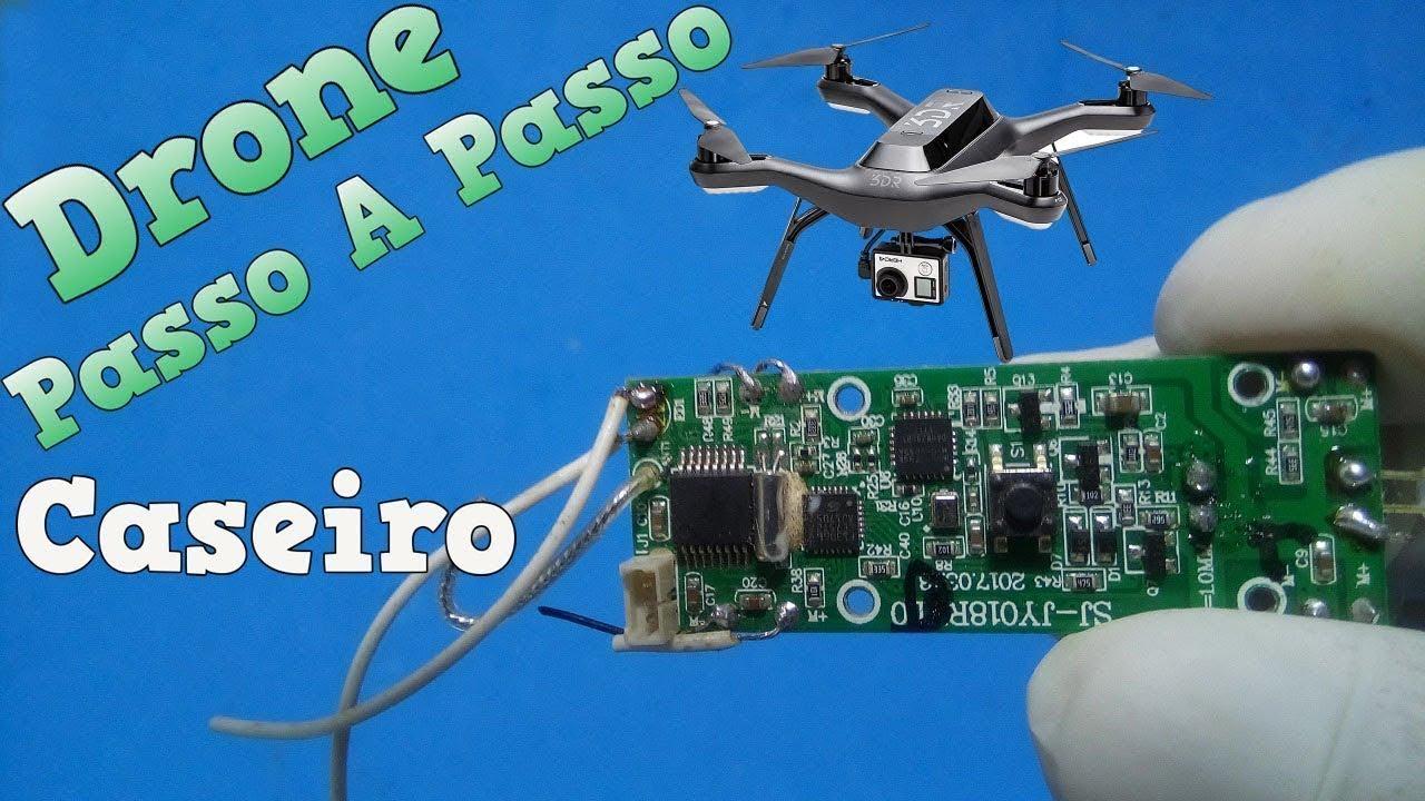 Aprenda A Fazer Drone Caseiro Passo A Passo