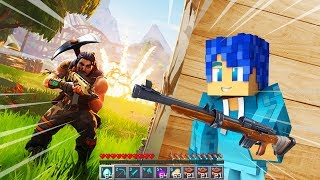 ¿¡JUEGO FORTNITE EN MINECRAFT?! 😱 | MINECRAFT BATTLE ROYALE con TINENQA y KIRON