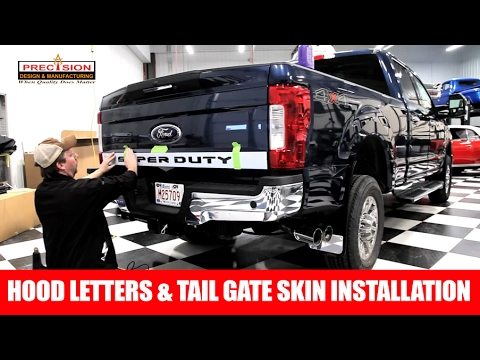 2017 Ford F250 Super Duty receiver hitch safety chain ...