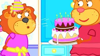 Lion Family Birthday Party Ideas Cartoon for Kids